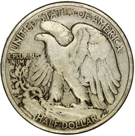 USA 1/2 Dolara 1941 D - Walking Liberty