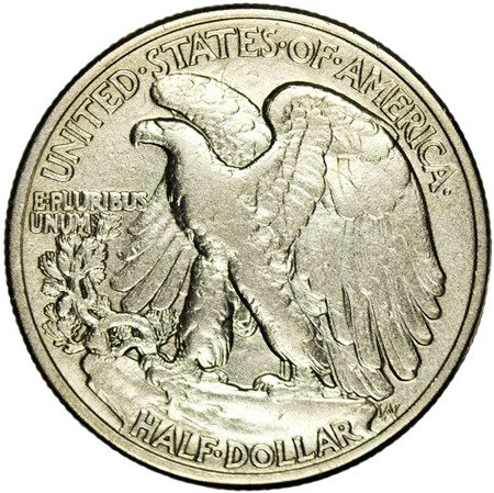 USA 1/2 Dolara 1946 - Walking Liberty