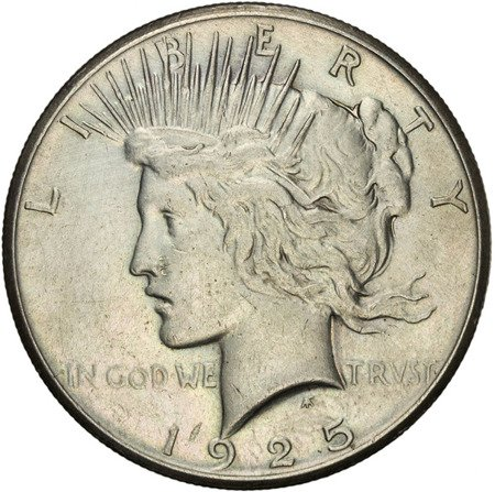 USA 1 Dolar 1925 - Peace Dollar