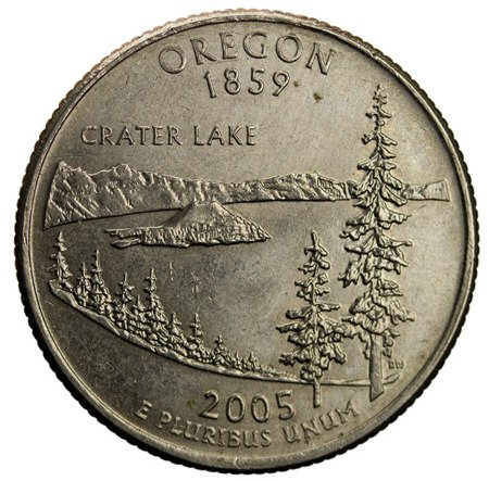 USA 25 Centów 2005 - Oregon, Quarter