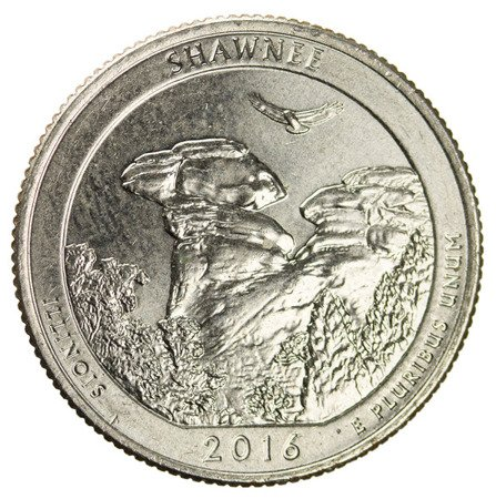 USA 25 Centów 2016 - Shawnee, Quarter
