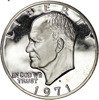 USA 1 Dolar 1971 S - Dwight Eisenhower